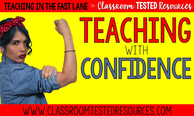 How to ditch your self doubts and teach with confidence!