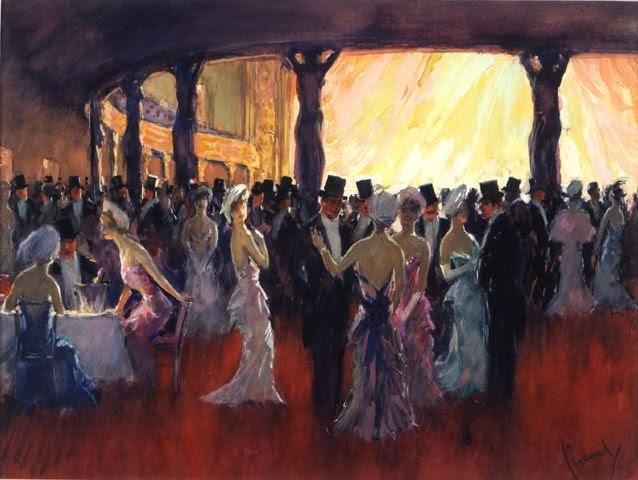 Edward Cucuel - En el baile - s. XX