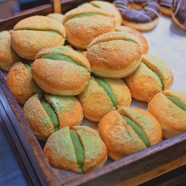 Greentea Donuts