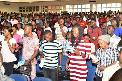 FUTA Holds Orientation for 3,500 Fresh Students - 2017/2018