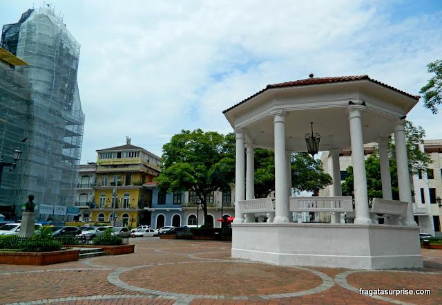 Casco Viejo Panamá - Plaza Independencia