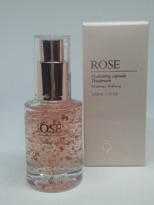 9 Wishes Rose Capsule Essence