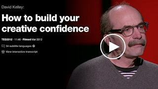 How to build your creative confidence. TED Talk by David Kelley