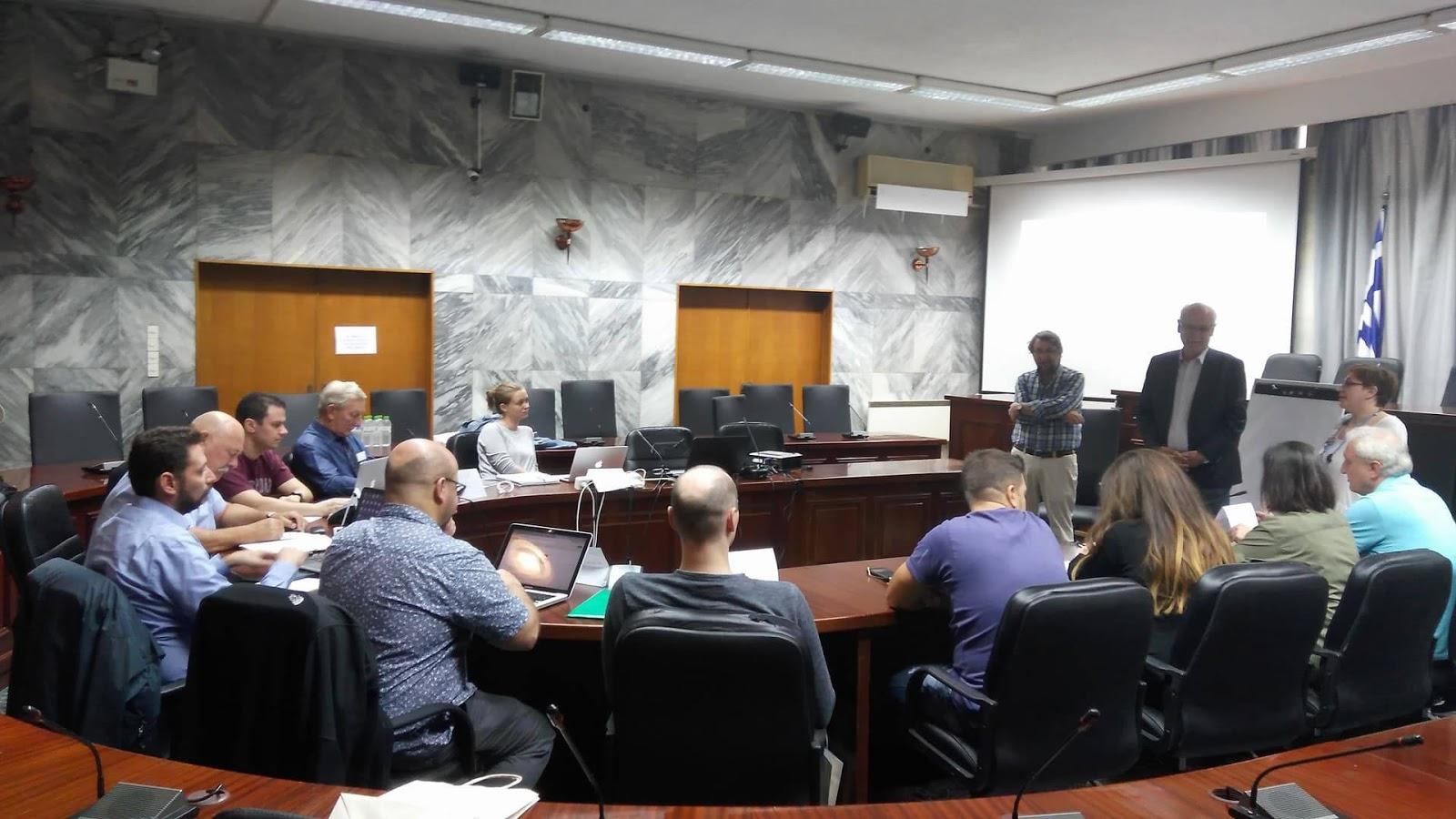 Πραγματοποιήθηκε η συνάντηση εργασίας του Ευρωπαϊκού Προγράμματος Horizon 2020 CS-Aware στη Λάρισα