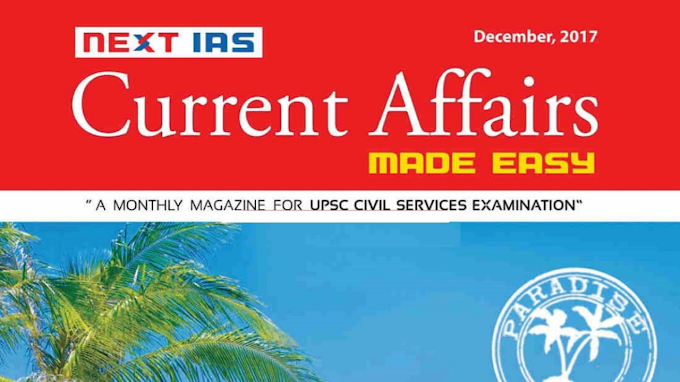 MADE EASY CURRENT AFFAIRS DECEMBER 2017 [ENGLISH]