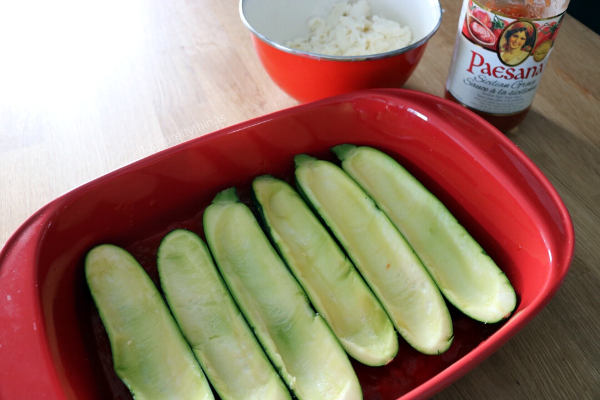 Italian Style zucchini boats recipe - Tori's Pretty Things Blog