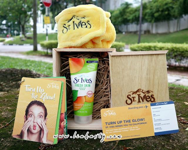 Facial Scrub Fresh Skin - Apricot Scrub dari St Ives