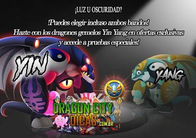 Luz ou Sombrio? Dragões Yin e Yang - Novidade revelada!