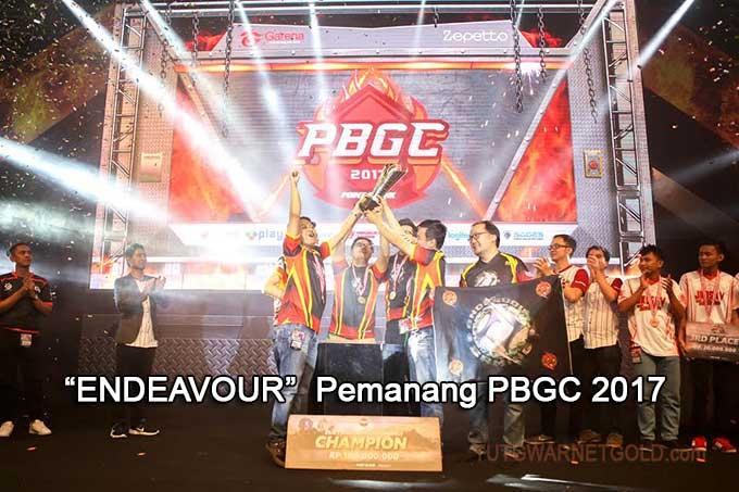 Pemenang PBGC 2017, Tim Endeavour Wakili Indonesia ke Rusia