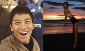 Sao Hàn 7/1: Sulli khoe dáng gợi cảm, Ji Sung bị dìm nhan sắc thê thảm