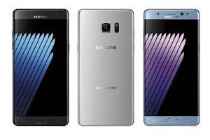 تسرببات هاتف سامسونج جالاكسي نوت 7 Samsung Galaxy Note