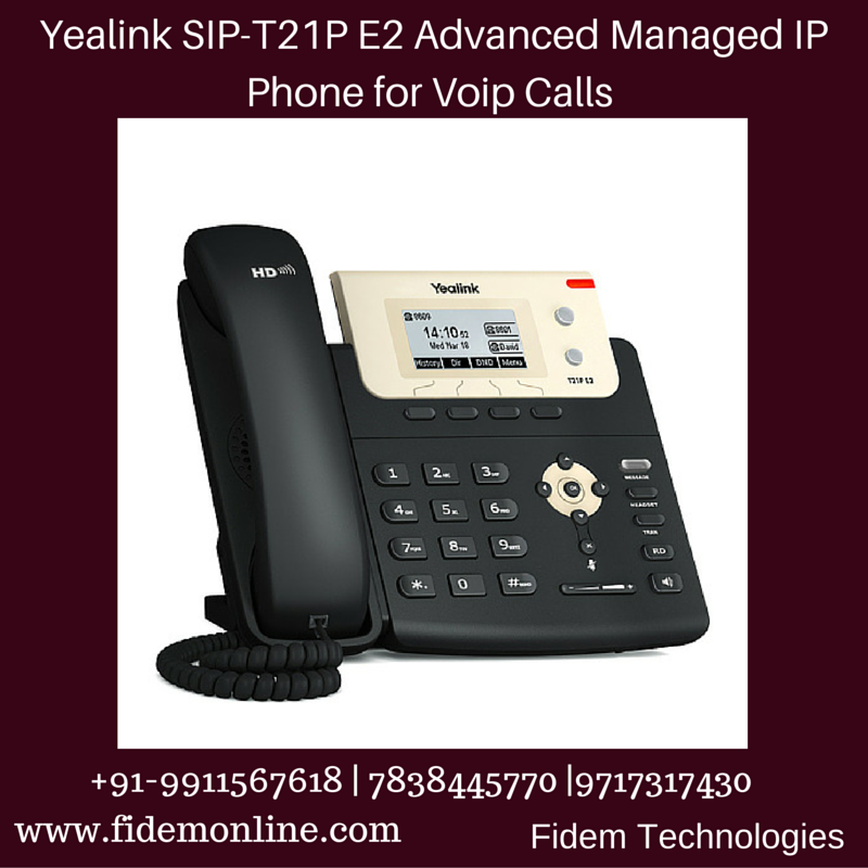 Yealink IP Phone SIP-T20 for Call Centers in India | Yealink IP