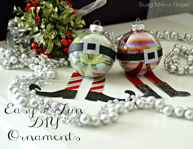 Elf Ornament Craft