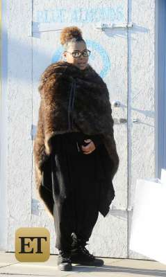 Janet Jackson Spotted for the First Time Since Giving Birth to Son Eissa!