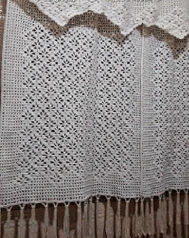 Beautiful Pattern With Crochet Curtain Crochet Designs Free