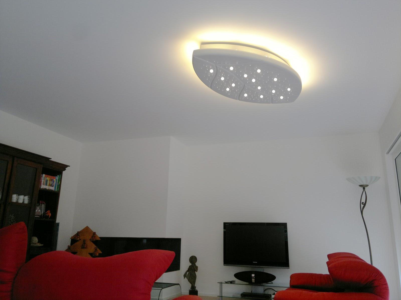 Illuminazione a soffitto led - Illuminazione ingresso casa ...