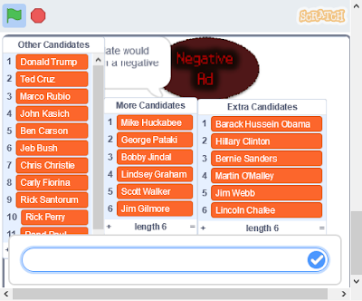 Scratch 3.0 glitch bug dialogue bubble behind list broken