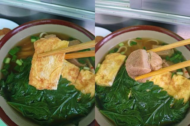 卵焼きと豚肉の写真