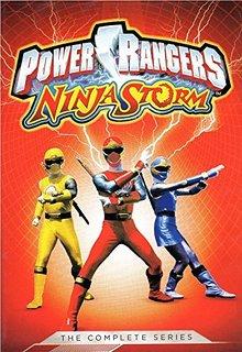 DVD Review - Power Rangers: Ninja Storm: The Complete Series