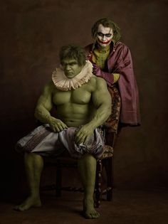 Hulk and the Joker
