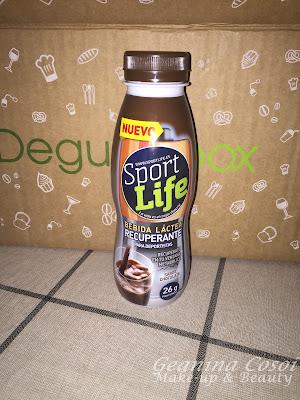 Sport Life bebida láctea recuperante Caja Degustabox - Abril 2016
