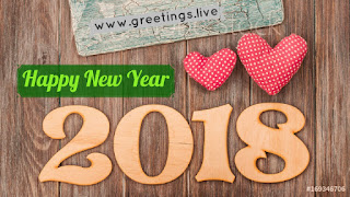 Best card for Two Loving Hearts in 2018 New Year