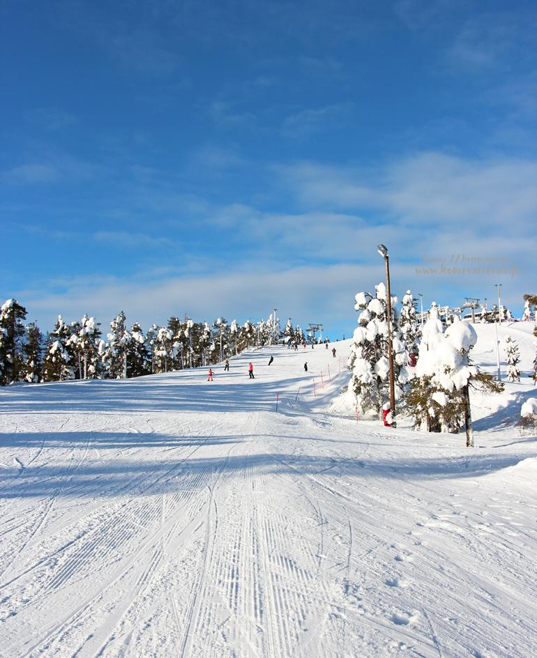 hiihtokeskus Rukan rinne