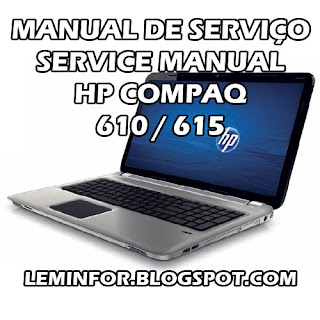 Manual de Serviço Notebook HP COMPAQ 510 511 515 516 Service Manual Notebook HP COMPAQ 510 511 515 516 Manual de servicio Notebook HP COMPAQ 510 511 515 516