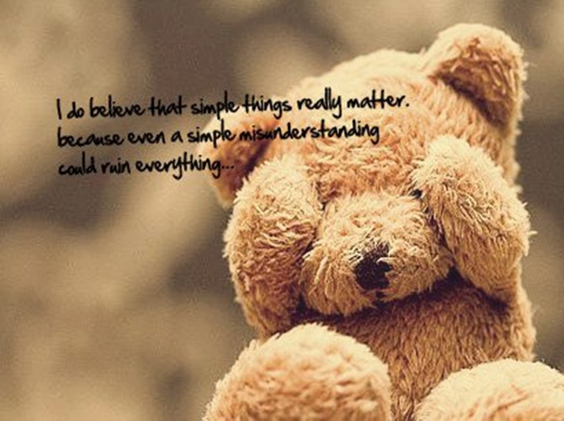 Love Quotes With Teddy Bear Images: Most Cute Teddy Bear Photos For FB