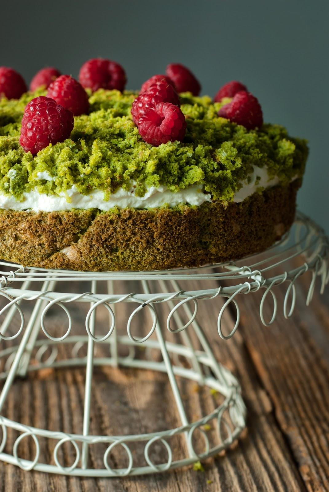 Ciasto leśny mech bez glutenu