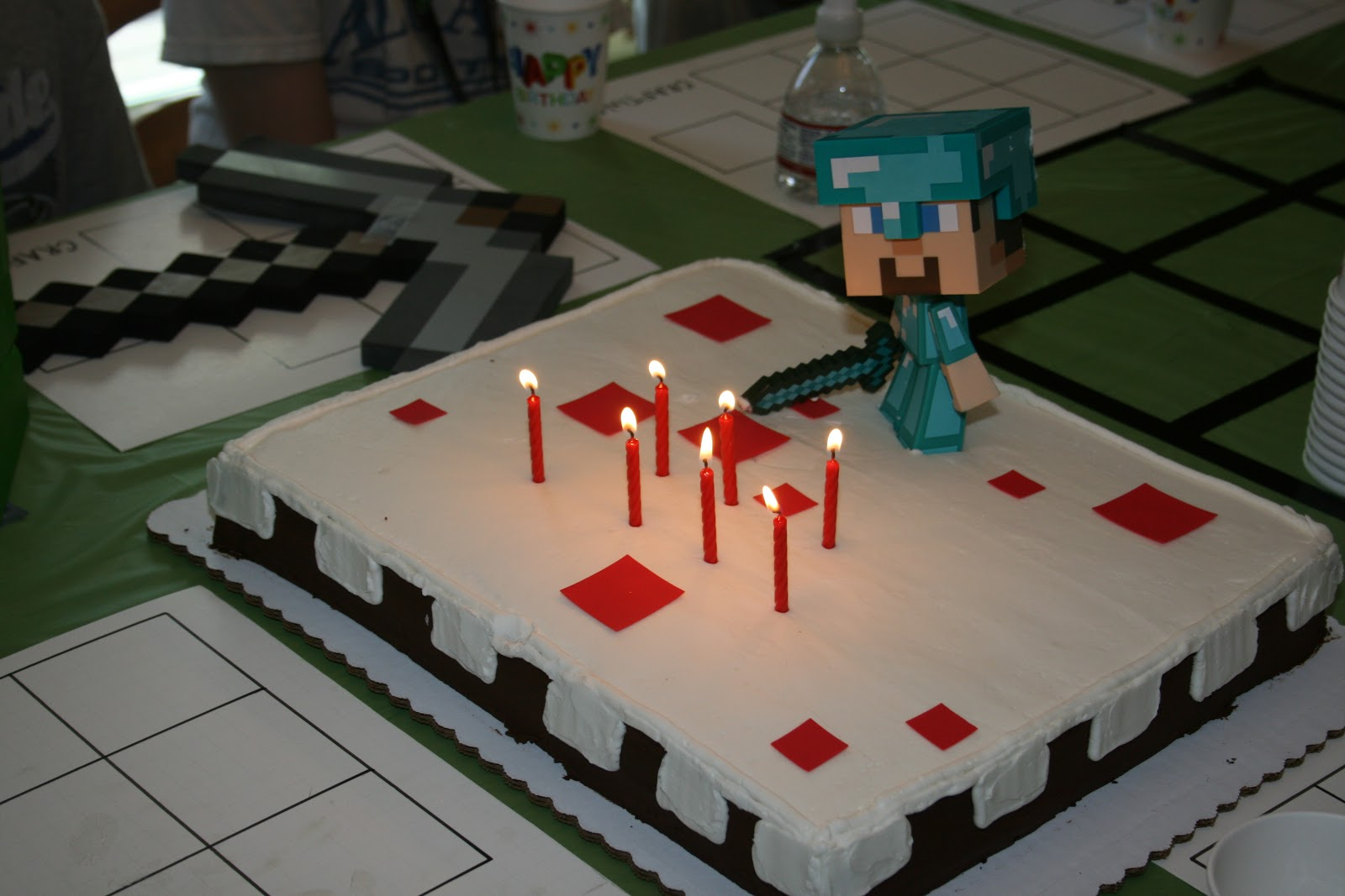This That Amp Carrot Tops Happy Birthday Bo Minecraft Style
