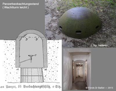 Wachtturm (leicht) — Position d'infanterie de Heiteren (Balliet J.M.)