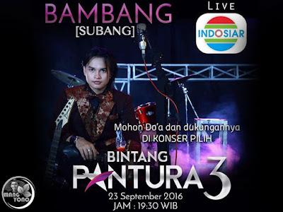 Bambang, Pedangdut Subang Lolos Audisi Bintang Pantura 3 Indosiar