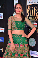 Nandita Swetha in a tight Green Choli Ghagra at IIFA Utsavam Awards March 2017 ~ 026.JPG
