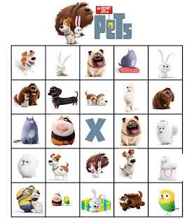 free printable pets bingo
