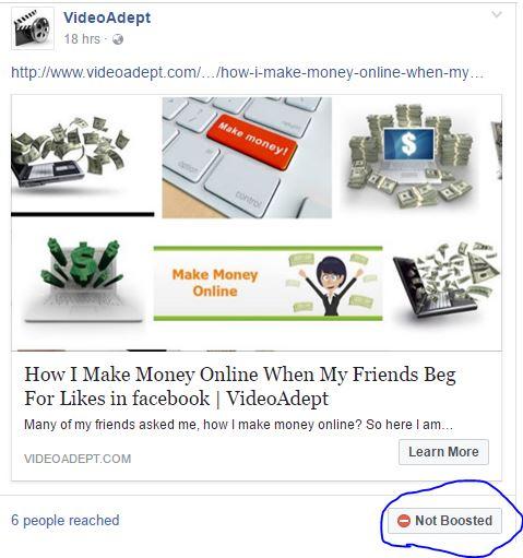 Facebook Denied Ad Against Facebook