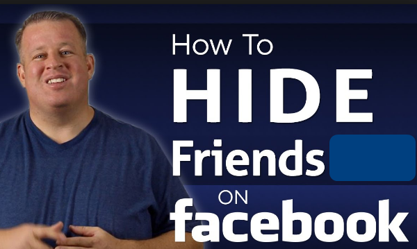 How To Hide Friend On Facebook