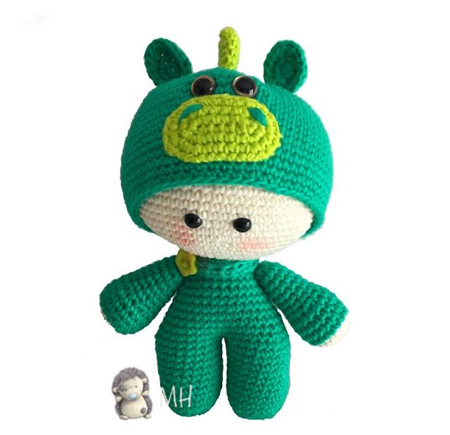Muñeco yoyo dragón