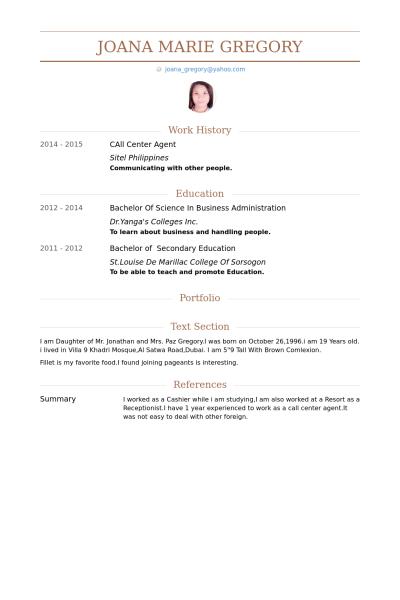Callcenteragent Lebenslauf Vorlage Beispiele 2019 Lebenslauf Vorlage