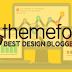 Desain Template Blogger Terbaik Di Themeforest