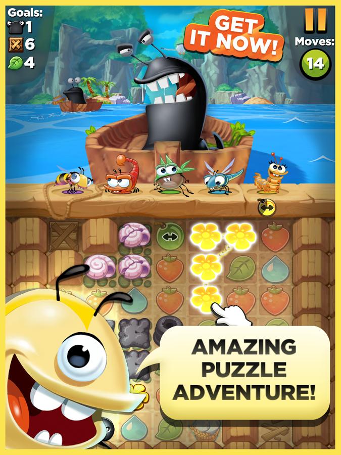 Best Fiends - Puzzle Adventure google play ile ilgili görsel sonucu