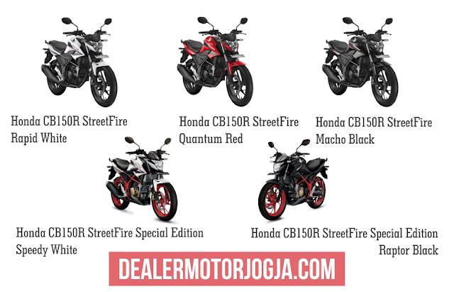 Promo Akhir Tahun Cash - Kredit Honda Honda CB150R StreetFire