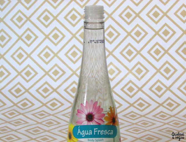 Body Splash Água Fresca da Petúnia