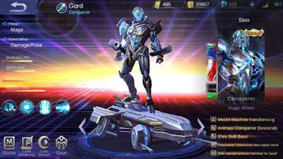 Skin Legend Gord: Conqueror