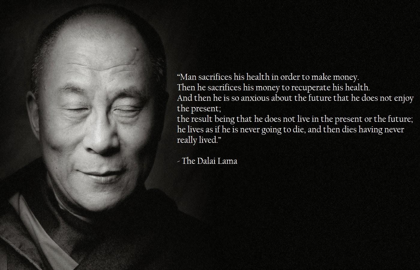 The life of the dali lama essay