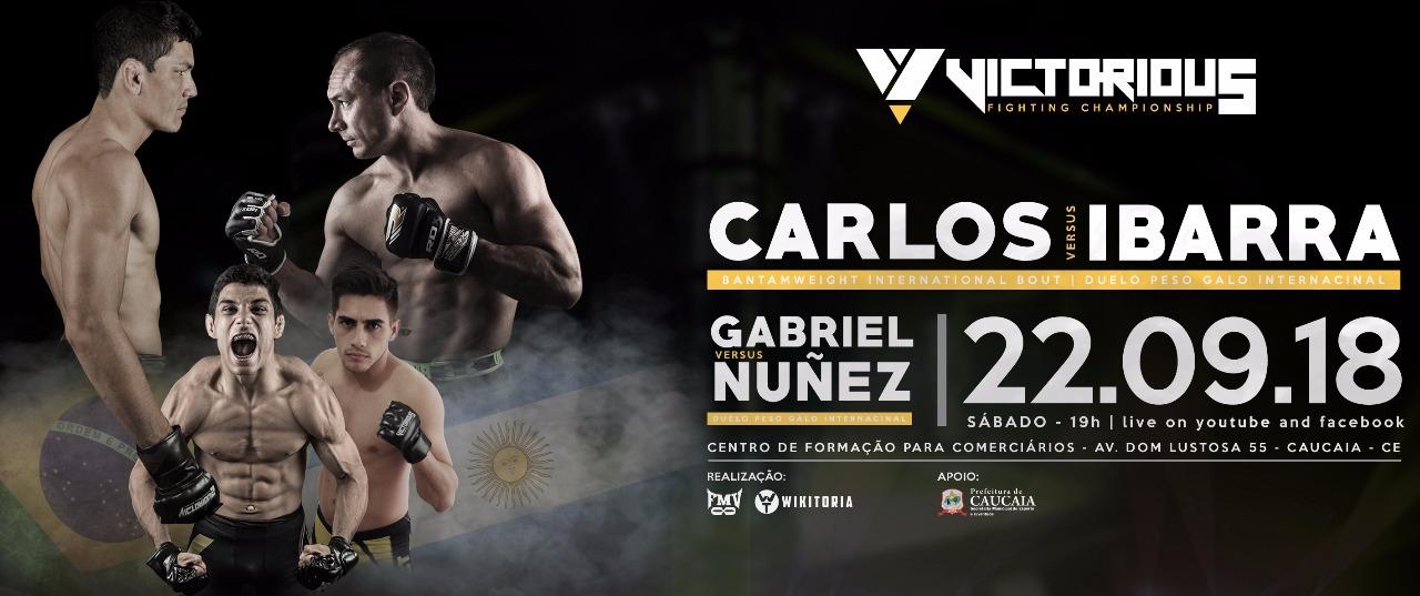 Evento internacional de MMA acontece sábado em Caucaia f28566fe851f0