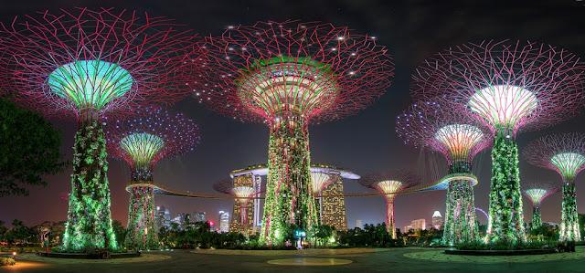 Wisata menjelajah keindahan Gardens by The Bay Singapore