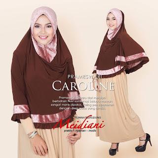 Jilbab Cantik Prameswari Caroline