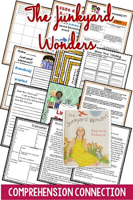 Junkyard Wonders is a great mentor text for many comprhension skills and for writing. Bullying is the central theme.