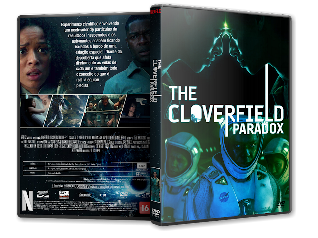 Capa DVD The Cloverfield Paradox